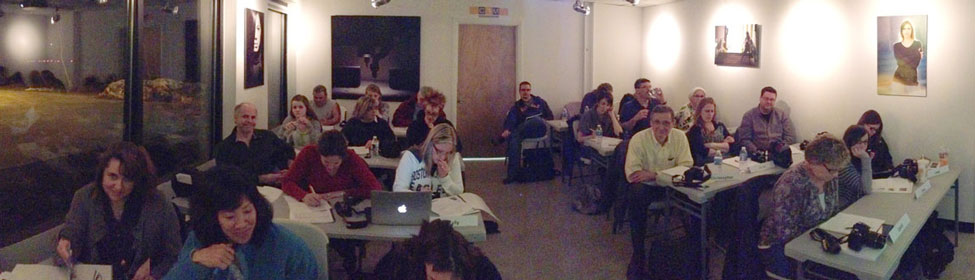 A full house for one of our Photography The Basics courses